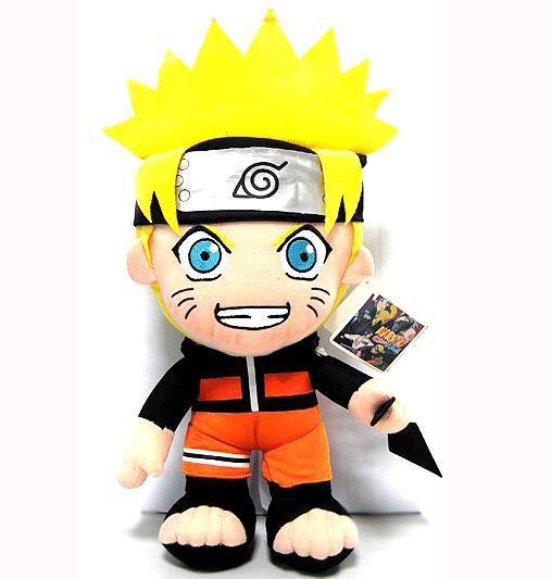 "Plush Anime Naruto Uzumaki Naruto Plush Toy Cosplay Costume Soft Stuffed cute Doll Gift 12"" Free Shipping(China (Mainland))"