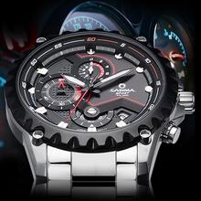 CASIMA Luxury brand fashion watches men casual charm luminous sport multi-function quartz wirst watch waterproof 100m #8203