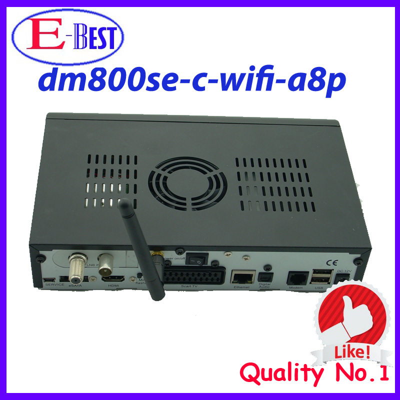 dm800se c wifi A8P HD Cable TV Receiver DVB-C SIM a8p DM800c Linux os dm800c Enigma2 cable version at stock(China (Mainland))
