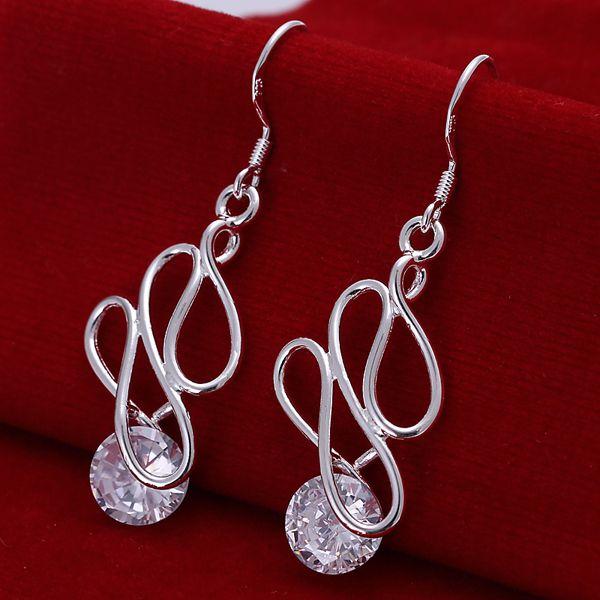 Latest Fashion Reasonable Price cluster drop earrings green earrings cheap earrings online(China (Mainland))