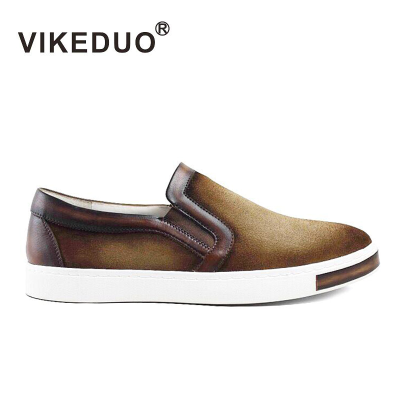 Newest 2016 flat shoes Mens casual shoes handmade shoes 100% Genuine leather shoes Hand painted shoes Second Only To Berluti(China (Mainland))