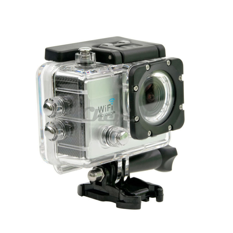 12M Wifi Action Camera + Remote Control – Waterproof – 60fps HD 1080P