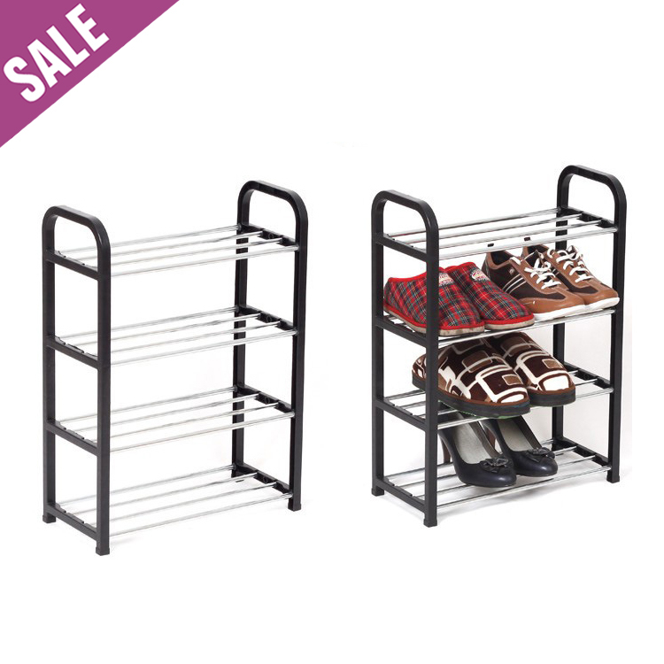 1pc Cheap Modern Four-layer shoe rack/shoe shelf/shoe cabinet, Easy installation stand for shoes, shelf for books(China (Mainland))