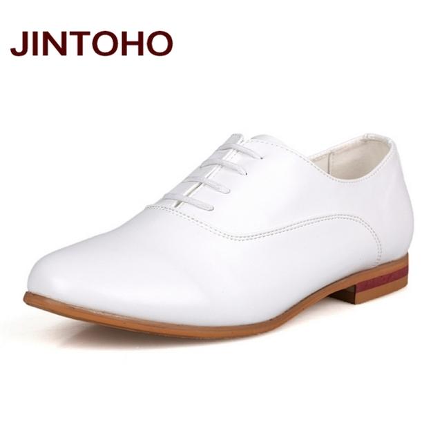 Jintoho мода черный и белый свадебные туфли, Мужчины туфли, Узелок мужчины кожаные ...