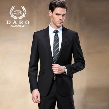 Западный стиль черный цвет мужчины бизнес костюмы бренд босс костюм для мужчины в свадьба жених блейзеры смокинг DR88602-1 #