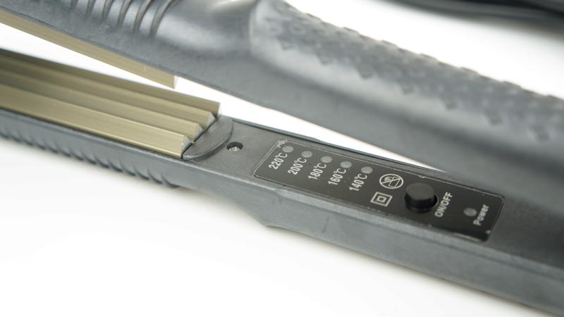 Controle de temperatura de Cabelo alisamento de ferro Ferro Ondulado Curling Iron Hair Care Styling Tools Rolo de Cabelo Onda Mágica