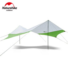 Naturehike Hexagon Rainproof Awning Outdoor Sunshade Camping Sun Shelter Large Space UPF40+ Waterproof Awning Canopy(China (Mainland))