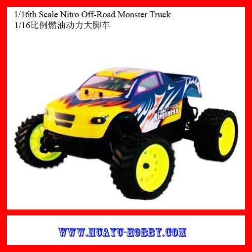 FREESHIPPING australia : HSP Nitro cars !! Kingliness 1/16 4wd Nitro Monster rc truck RTR car Toys 94286<br><br>Aliexpress