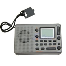 Free Shipping Hot Portable Digital Tuning LCD Receiver TF MP3 Player AM FM SW Full Band Radio