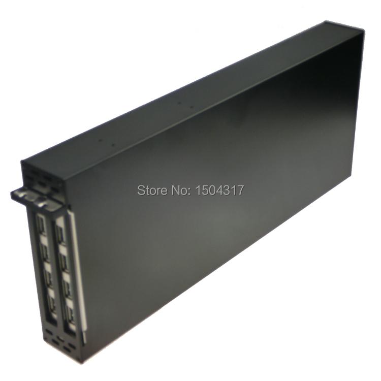 DHL PCIe к 2 Слоты PCI Райзер карта с USB3.0 соединения алюминиевого сплава корпус