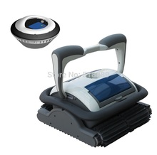 Newest Cordless Model drvien by floating battery Swimming pool cleaner/swimming pool robot cleaner 3110 free shipping(China (Mainland))