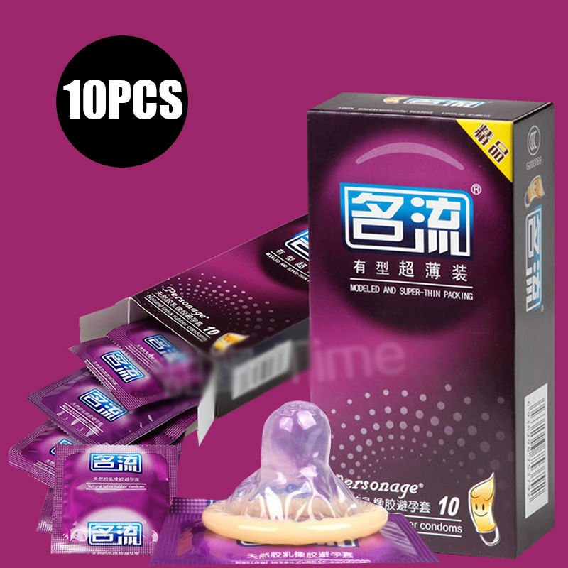 Davidsource Super Thin 10 Piecs Latex high quality condoms Adult Contraception Sex Product free shipping(China (Mainland))