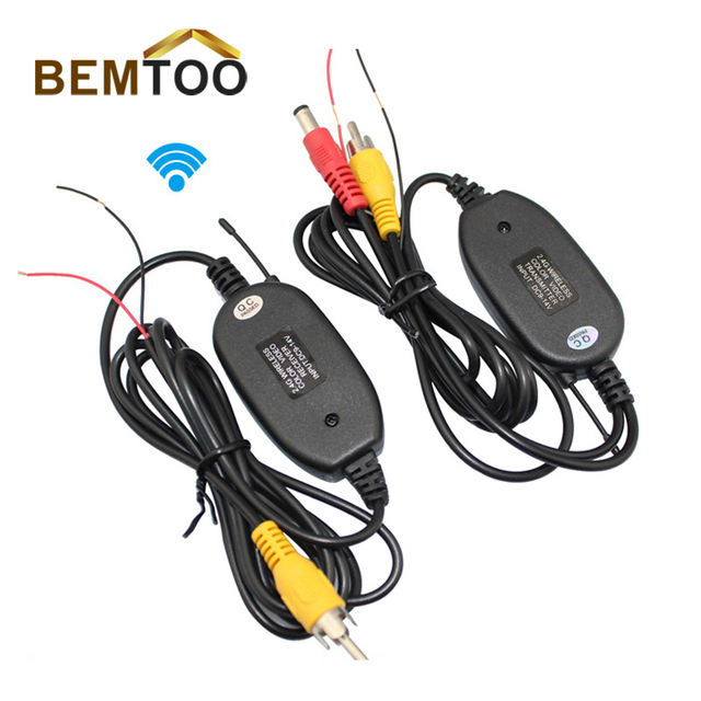 BEMTOO 2.4G WIRELESS Module adapter for Car Reverse Rear View backup Camera cam , Free Shipping