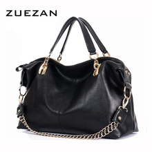 Buy Large 100% Natural Cow Skin Hobo Bag,Women GENUINE LEATHER Handbag,Real Cowhide Chains Shoulder bags,Fashion Crossbody bag B162 for $58.05 in AliExpress store