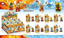 60sets DLP9017 building Blocks Minifigures Chimo Mythical Animals Heroes Mini Figures Children Bricks Toys(China (Mainland))