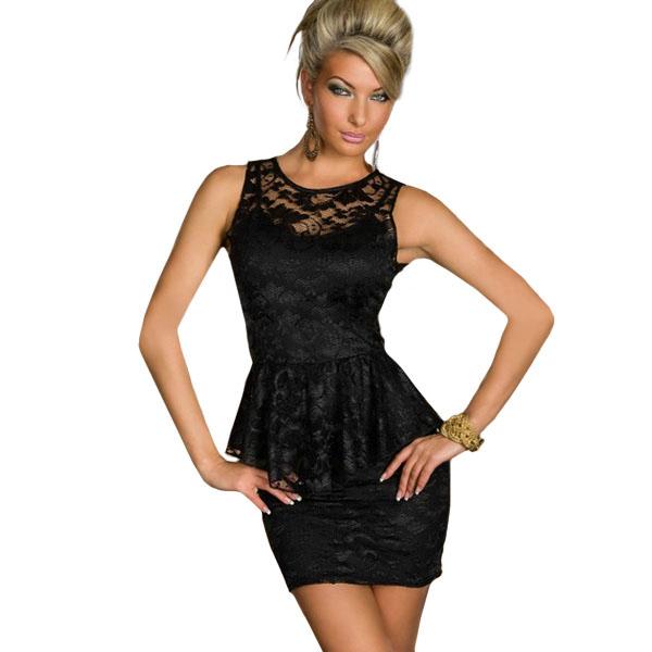 Women Work Wear Hot Selling Mini Dress Style Office Black Elegant Dress Newly Fashion Sexy Peplum Business Dress(China (Mainland))