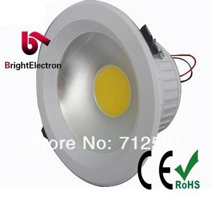 Free Shipping FedEx High Power COB Downlight  30W led downlight.1*30w COB LED ceiling Lamp.110-240VAC 230MM 200MM