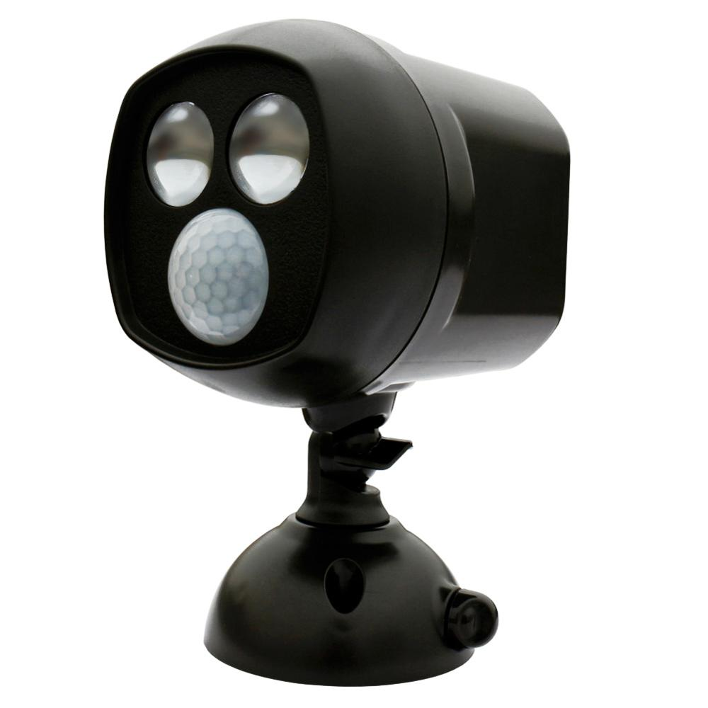Super Bright Motion Activated PIR Sensor Wireless Twin Security Light Free Shipping PTCT(China (Mainland))
