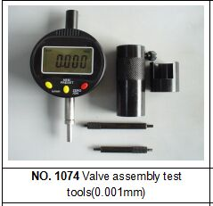 BST No. 1074 common rail injector meter tool for valve assembly with gauge(China (Mainland))