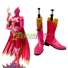Free shipping customized Tiger and Bunny Cosplay Fire Emblem Cosplay Boots  shoes Version 01