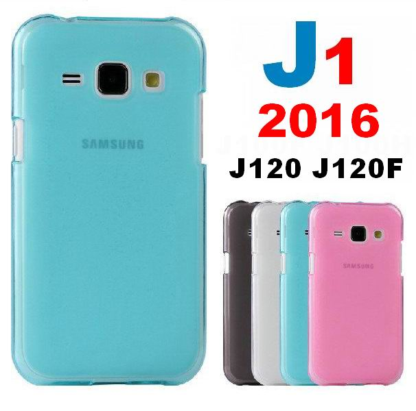 J1 2016 Hybrid Rubberized Matte Cover Hard Case For Samsung Galaxy J1 2016 J120 J120F Soft Silicone Cover Frosted Matte TPU Case(China (Mainland))