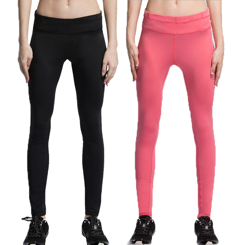 Women's Yoga Pants Fitness S XL Size Trousers Two Color