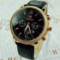 Leather Watch 167