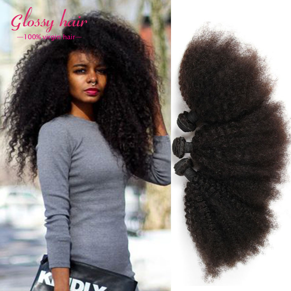 Mongolian Afro Kinky Curly Virgin Hair Cheap Rosa Hair Products 100% Human Hair Curly Weave 3 bundles Mongolian Kinky Curly Hair