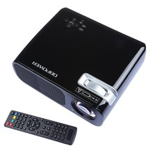 DBPOWER LED Video Projector 800*480 2600 Lumens HD Home Theater LCD Proyector 1080P HDMI USB TV DVD Beamer(China (Mainland))