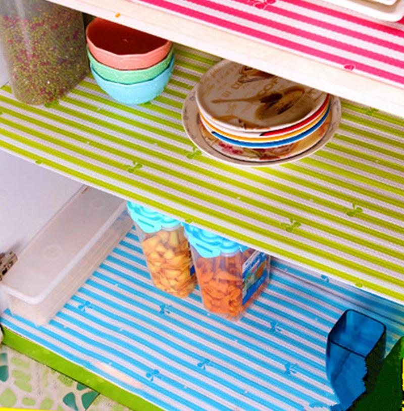 Modern PET plastic placemat kitchen waterproof non-slip mats antibacterial paper 300*30cm 200*45cm wardrobe/cupboard drawer mat(China (Mainland))