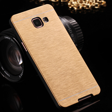 A5 2016 Luxury Aluminum Gold Metal Case For Samsung Galaxy A5 A5100 2016 Hard Mobile Phone  Accessories Back Cover Bags A5 2016