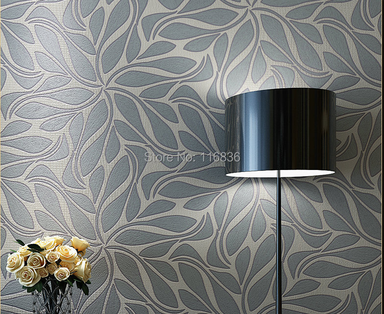Floral luxrious 3d parede fundo de papel rolos de papel de for Papel de pared decorativo