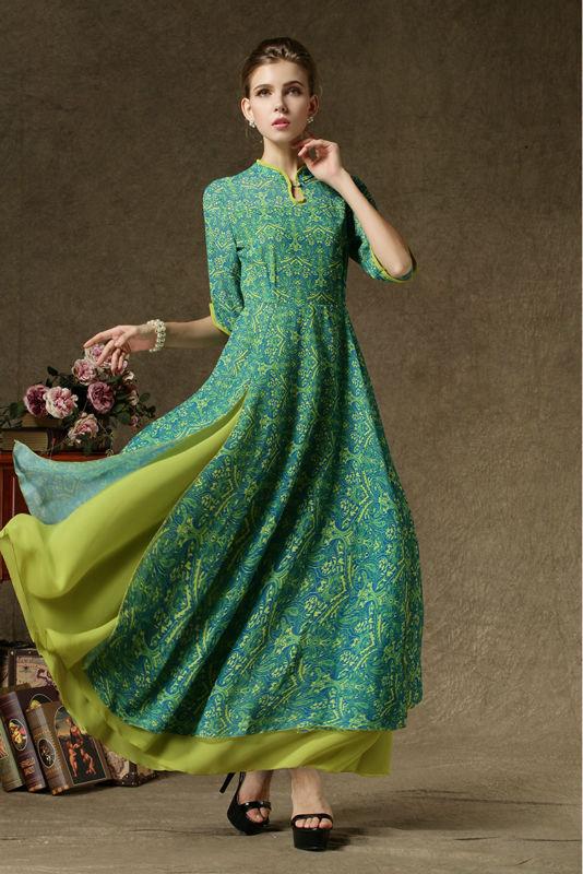 Beautiful Aliexpresscom  Buy Vintage Dress 2016 Women Summer Ethnic Brand Dark