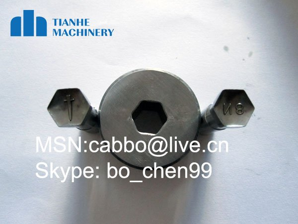 mould die / hexagon punch / tablet press machine / Customized mold for tablet press(China (Mainland))
