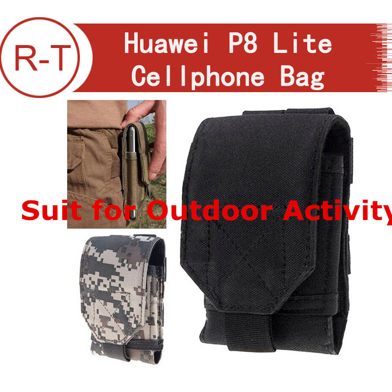 Huawei P8 Lite Case Outdoor Sport Bag Universal Phone Belt Pouch Cover Case for huawei p8 lite cellphone+5 color In stock(China (Mainland))