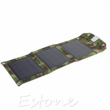 Outdoor Foldable 7 Watt Solar Charging Panel For USB Devices(China (Mainland))