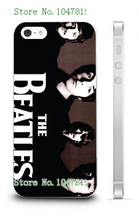 Mobile Phone Cases Retail 1pc The Beatles Protective White Hard Case For Iphone 4 4S Free Shipping