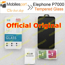 Elephone P7000 Tempered Glass 100% Original High Quality Screen Protector Film Accessories for Elephone P7000 in Stock Free Ship(China (Mainland))