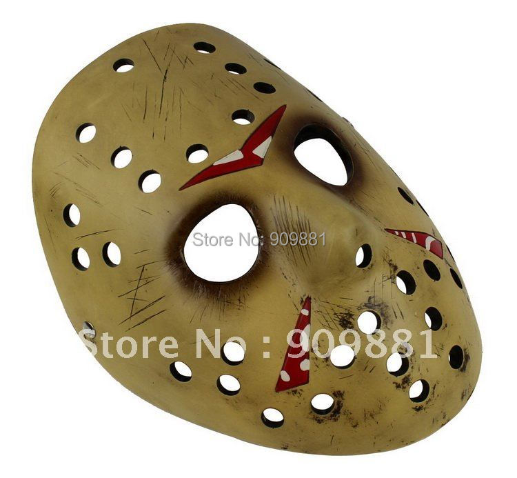 whosale memorial classics Jason mask Freddy Vs Jason Theme face resin mask Free Shipping(China (Mainland))