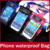 10pcs/lot Wholesal Cell Phone Universal Transparent Waterproof Case Dry Bag For iPhone 5 4S 4 and For Galaxy S4 i9500 S3 i9300