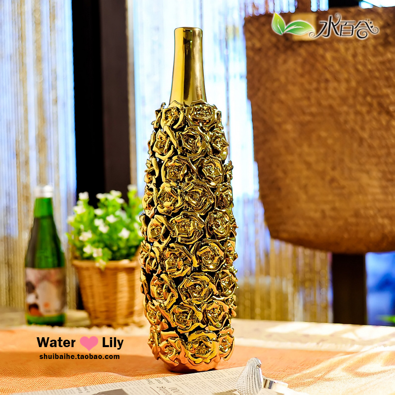 Fashion abstract ceramic vase crafts decoration new home decoration modern home decoration accessories(China (Mainland))