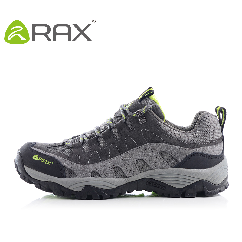 2015 rax suede leather lightweight breathable hiking shoes