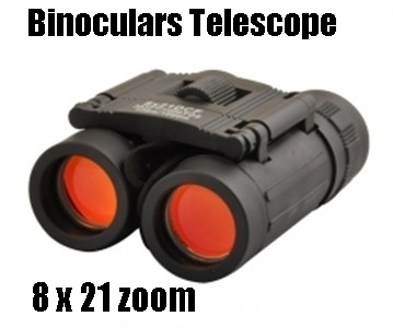 8 x 21DCF 383FT/1000YDS LLL night vision Zoom Optical military Binocular Telescope (126m-1000m )100%NEW - Free shipping -Can OEM
