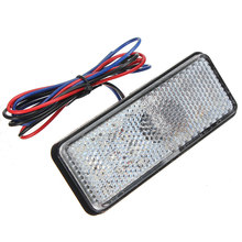 12V Low Power Rear Light Tail Brake Stop Lights For Car Truck Trailer RV Motorcycle With Reflector Automobiles Replacements(China (Mainland))