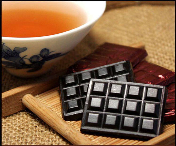 5 pcs Resin Tea Puer Tea Cream shu Pu er Resin chinese tea Ripe Pu er