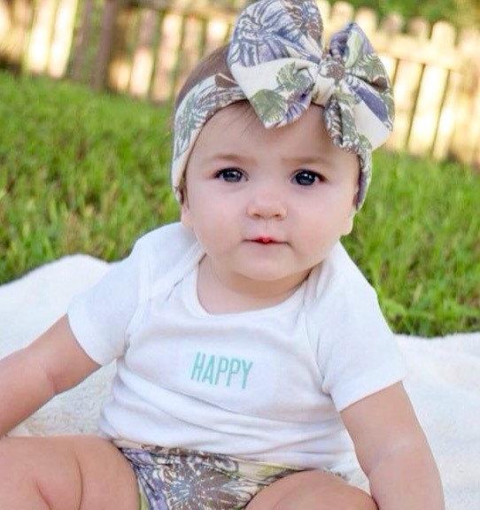 2015 new Baby Top hair bow Headband Baby Headwrap Printed haibow Cross Knot Baby Turban Tie Knot Headwrap headbands(China (Mainland))
