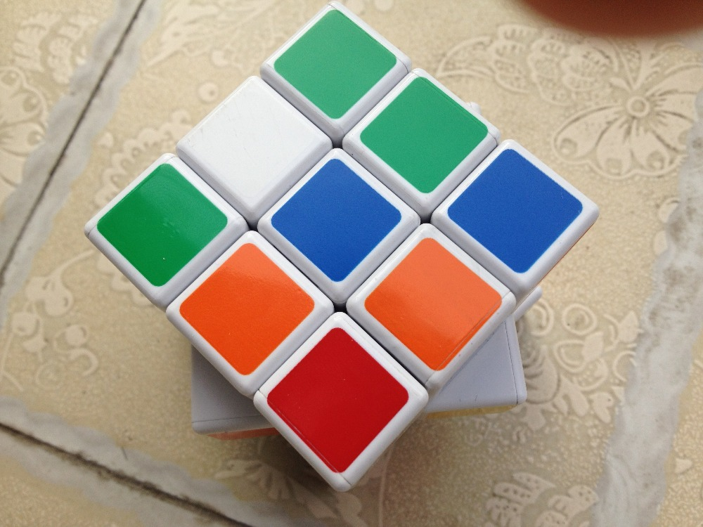 Magic Cube Toy Cube Game Promotional Longan Toy China 3x3x3 .size:5.2cm(China (Mainland))