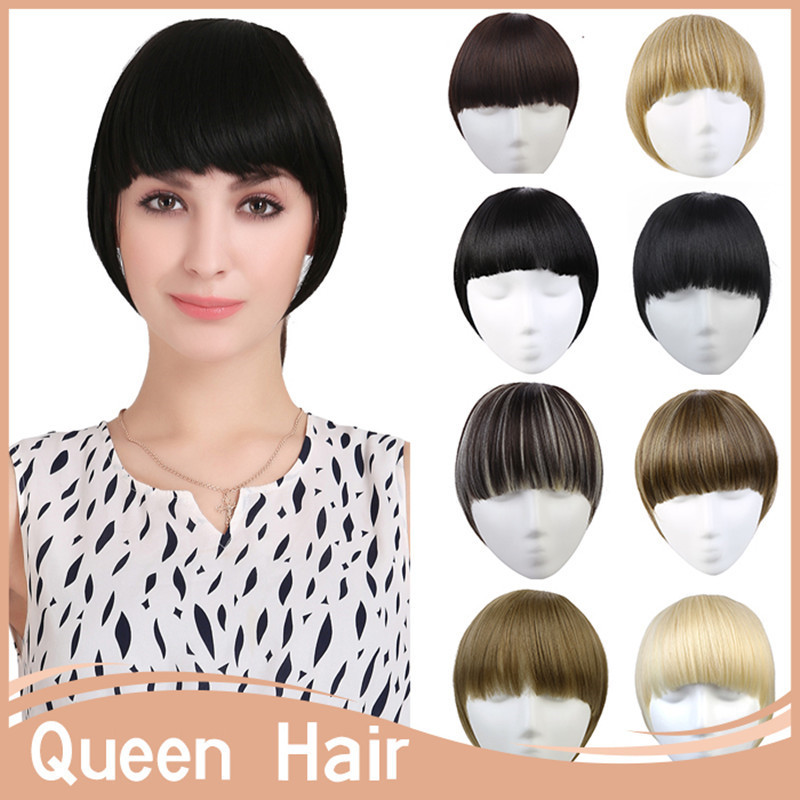 High Quality 200pcs/lot B3 Women Fashion Clip In bangs Synthetic fringe Hair Bangs Multi-color Available Heat Resistant Fiber<br><br>Aliexpress