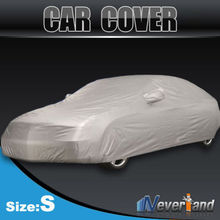 Indoor Outdoor Full Car Cover Sun UV Snow Dust Resistant Protection Size S M L XL Car Covers Free shipping(China (Mainland))