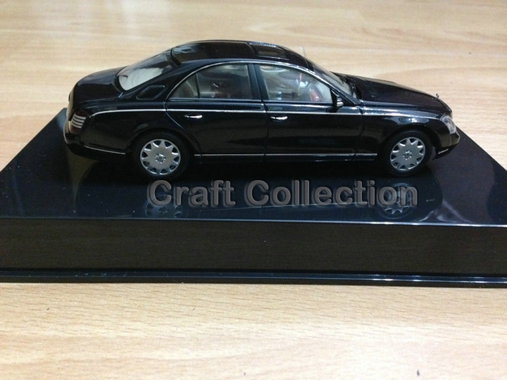 Black 1:43 AutoArt AA Maybach 57 S SWB Alloy Automotive Mannequin Excessive-end Scorching Promote Model Minicar Luxurious Items